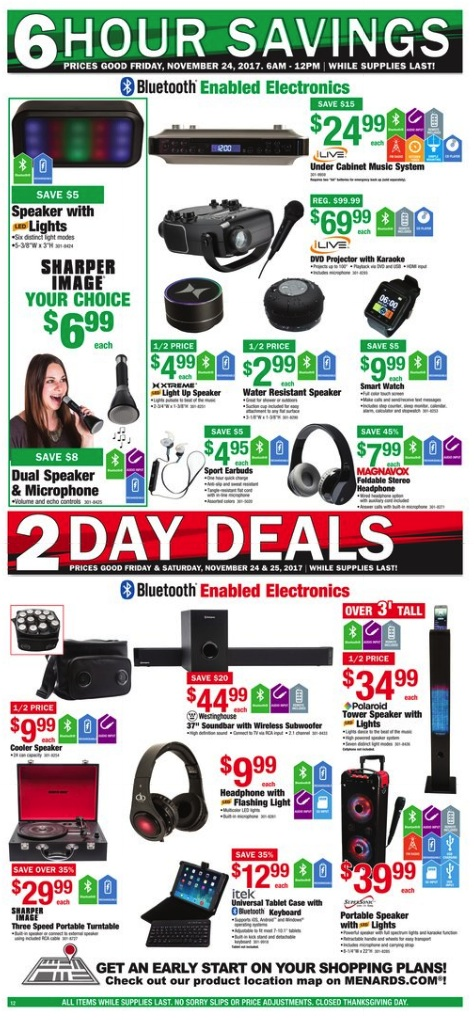 Menards black friday ad 2012 there can