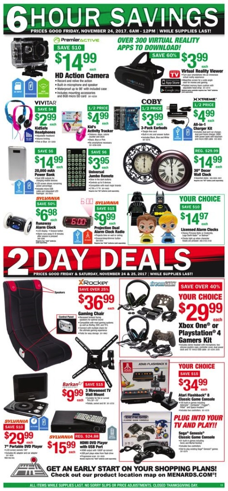 Menards black friday ad 2012 opinion you