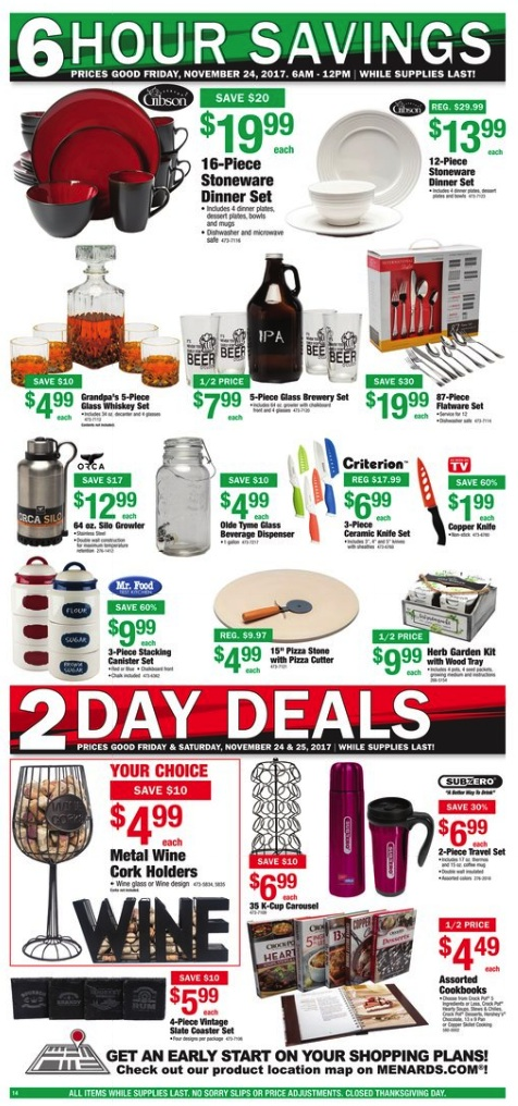 Menards Black Friday 2018 Ad Deals Funtober