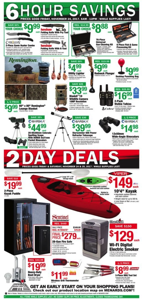 Menards black friday ad 2012 you