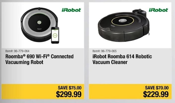 iRobot Roomba Black Friday 2019 & Cyber Monday Deals - Funtober