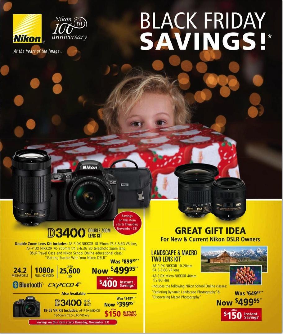 Black Friday Drone Deals 2017 >> Nikon Camera Black Friday 2018 Deals - Funtober
