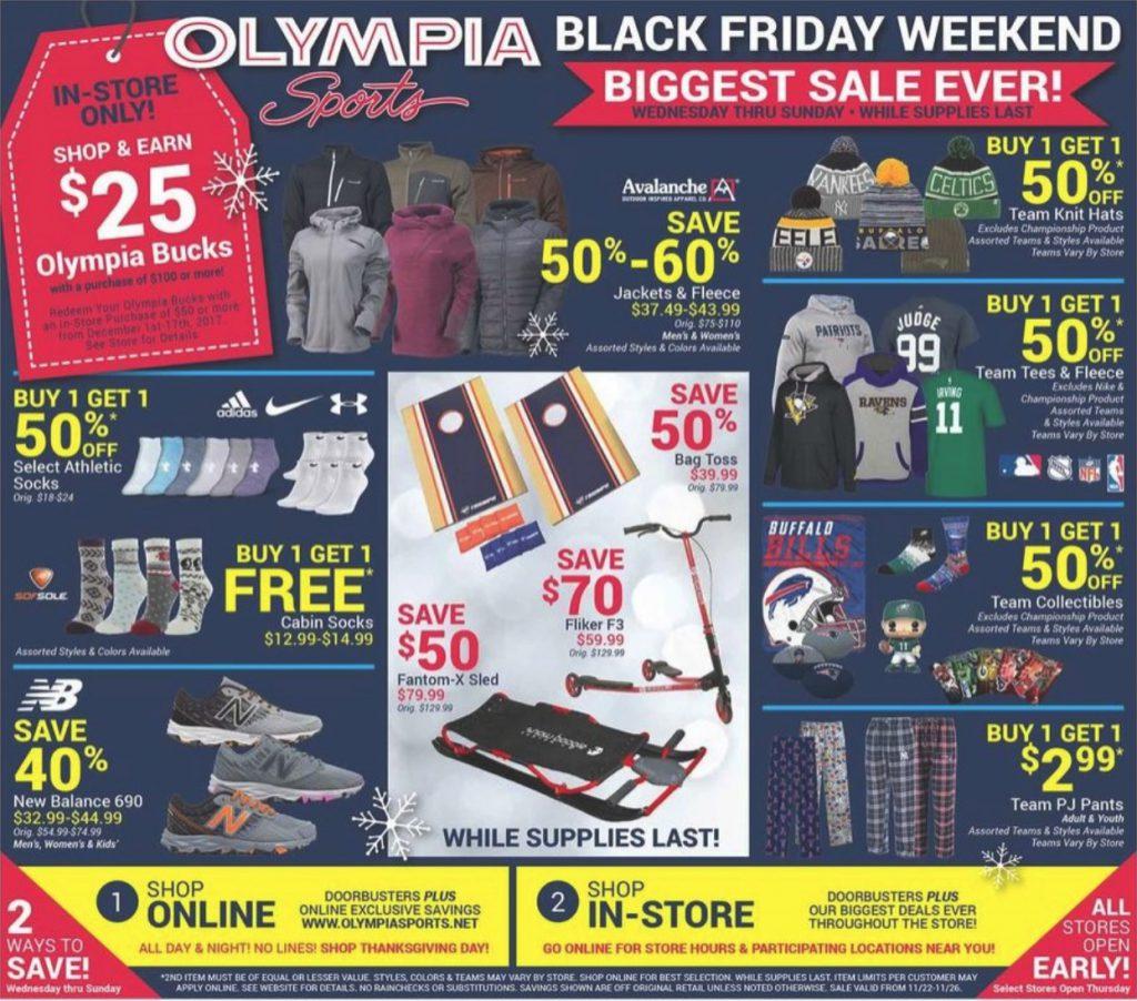 15c09901f Olympia Sports Black Friday 2019 Ad and Deals - Funtober