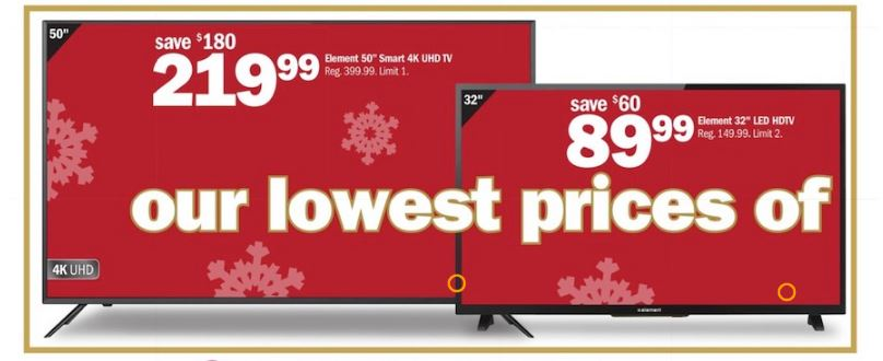 50 - 55 Inch TV Black Friday 2019 & Cyber Monday Deals
