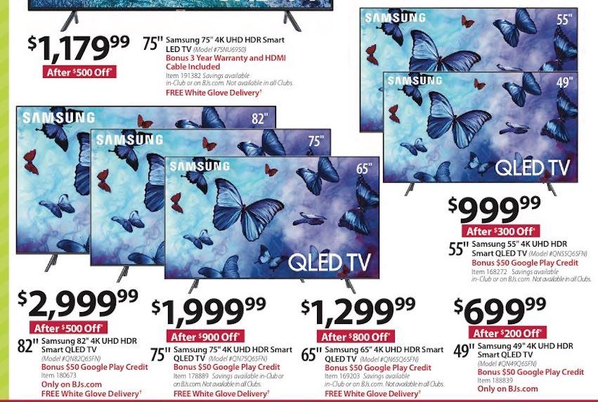 70 75 Inch Tv Black Friday 2020 Cyber Monday Deals Funtober