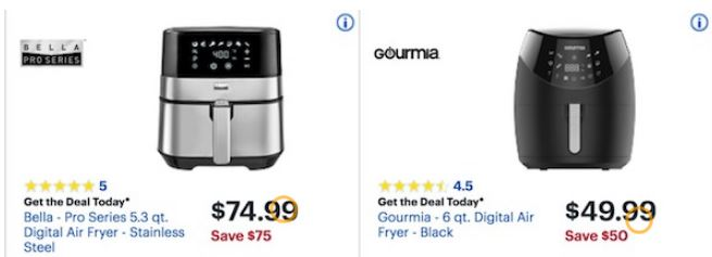 Air Fryer Deals For Black Friday 2019 Philips Nuwave