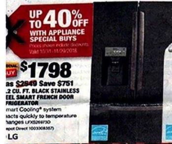 Refrigerator Black Friday 2020 Cyber Monday Smart Fridge Deals Funtober