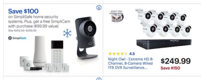 Home Security Camera Black Friday 2019 Amp Cyber Monday