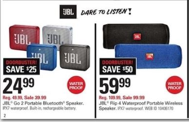 Jbl Black Friday 2020 Pulse Charge Flip Speaker Deals Funtober