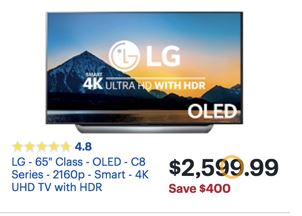 LG OLED & 4K TV Black Friday 2019 & Cyber Monday Deals - Funtober