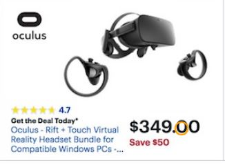 oculus rift black friday 2019