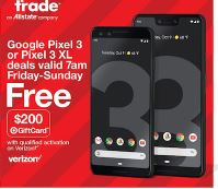 Pixel 3 Black Friday 2019 & Cyber Monday, Plus 3XL & Pixel 2