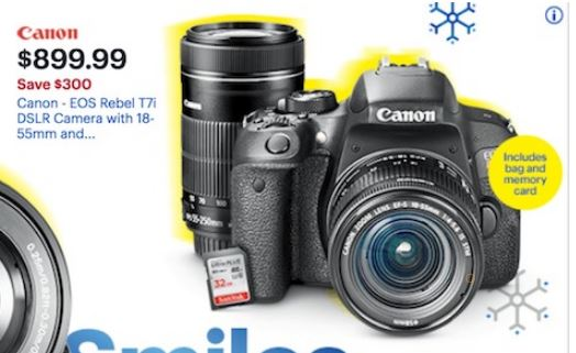 Canon Camera Black Friday Ad 2019 & Cyber Monday Deals