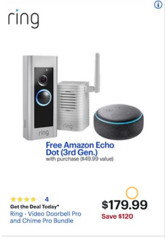 Best Ring Doorbell Black Friday 2020 Cyber Monday Deals Funtober