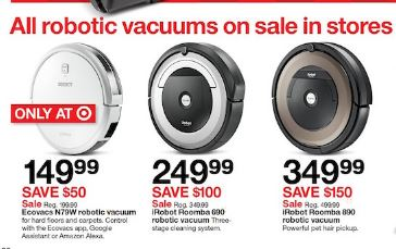 Irobot Roomba Black Friday 2020 Cyber Monday Deals On S9 I7 E5 960 And 675 Funtober