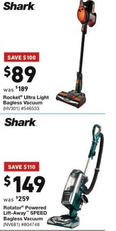 Shark Vacuum Black Friday 2019 Amp Cyber Monday Deals