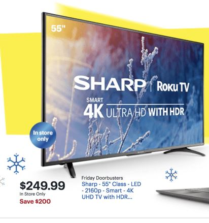 Sharp Tv Aquos Black Friday 2020 Cyber Monday Deals Funtober
