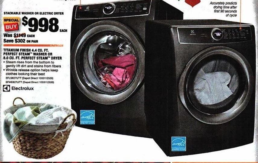 Washer Dryer Black Friday 2020 Kenmore Samsung Ge Lg Appliance Deals Funtober