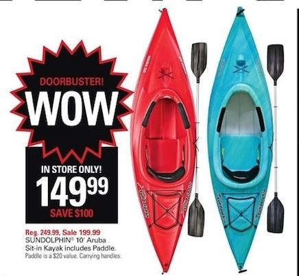Black Friday 2019 Deals On Boats Kayaks Canoes And