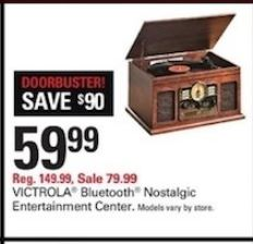 Victrola Black Friday 2020 Record Player Bluetooth Speakers Turntable Cyber Monday Deals Funtober