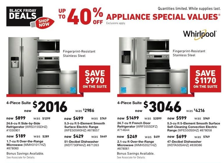 Appliance Deals For Black Friday 2020 Cyber Monday Funtober