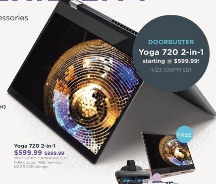 Lenovo Yoga Black Friday 2019 - Book 2, Yoga 920, 720, 730