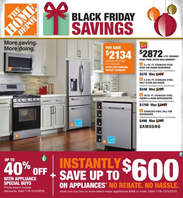 Home Depot Black Friday 2020 Ad Smart